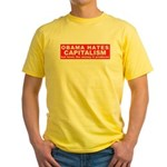 OBAMA HATES Yellow T-Shirt