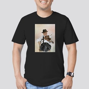 Old Time Fiddler Men's Fitted T-Shirt (dark)