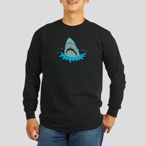 SHARK (12) Long Sleeve Dark T-Shirt