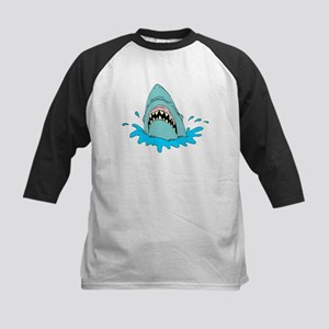 SHARK (12) Kids Baseball Jersey
