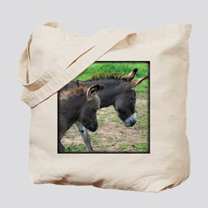 Miniature Donkeys Tote Bag