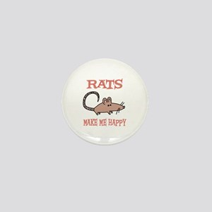 Rats Mini Button