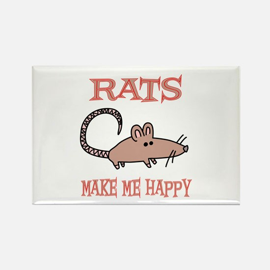 Rats Rectangle Magnet