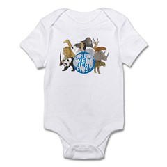 They Were Here First Infant Bodysuit
