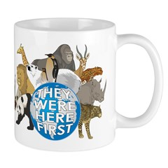 They Were Here First Mug