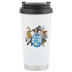They Were Here First Stainless Steel Travel Mug