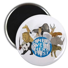 They Were Here First Magnet