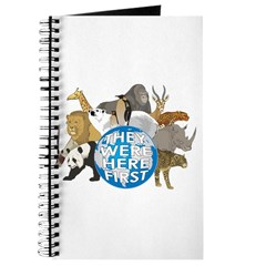 They Were Here First Journal