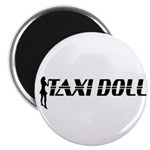 Taxi Doll Magnet