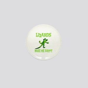 Lizards Mini Button