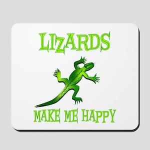 Lizards Mousepad
