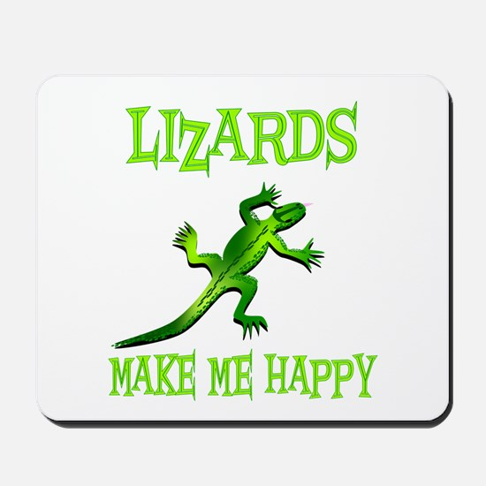 Lizards Mousepad