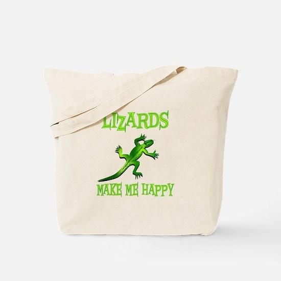 Lizards Tote Bag