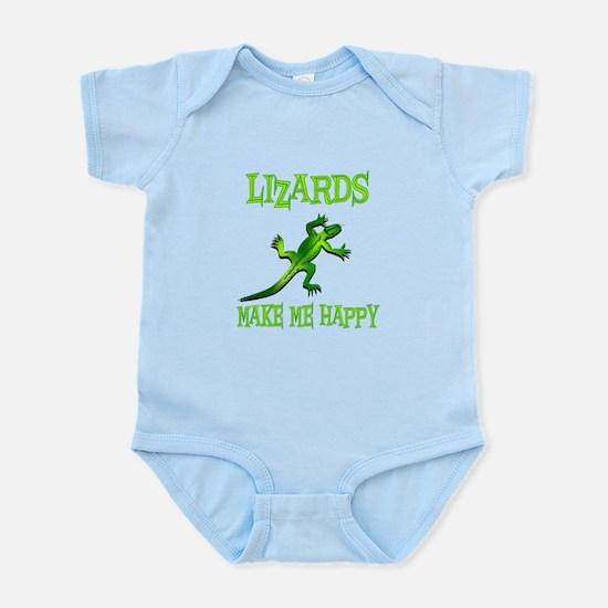 Lizards Infant Bodysuit