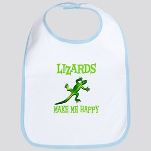 Lizards Bib