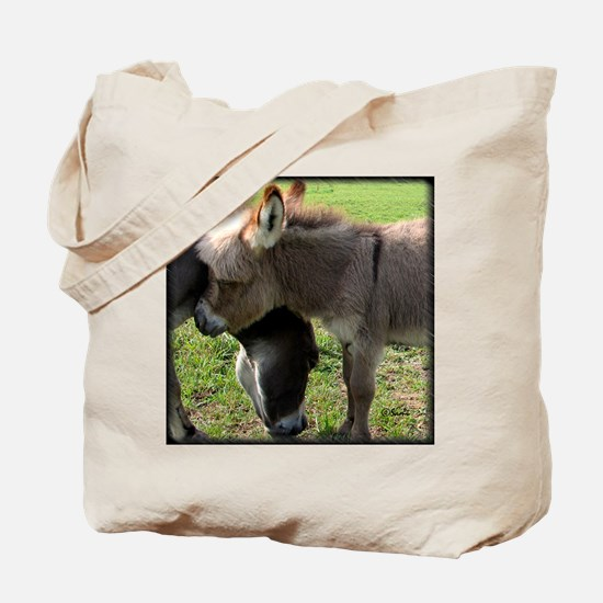 Baby Mini Donkey Hug Tote Bag