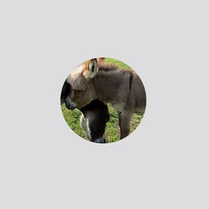 Baby Mini Donkey Hug Mini Button