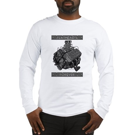 Flatheads Forever!-Grey Long Sleeve T-Shirt