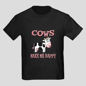 Cows Kids Dark T-Shirt
