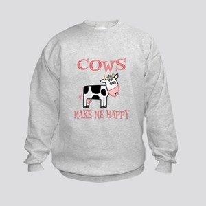 Cows Kids Sweatshirt
