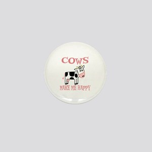 Cows Mini Button