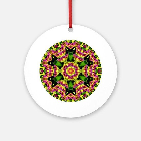 Baptisia Twilite Prairieblues Ornament (Round)