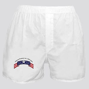 Proud Parent of a Soldier Sta Boxer Shorts