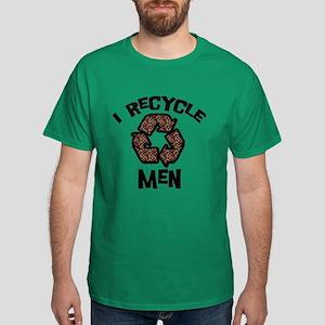 I Recycle Men Dark T-Shirt