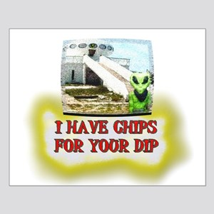 Albert Alien Chips 4 Dip Small Poster