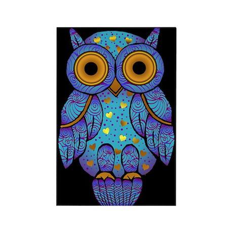H00t Owl Rectangle Magnet (10 pack)