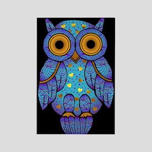 H00t Owl Rectangle Magnet