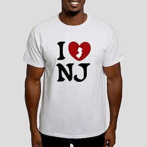 I Love New Jersey Light T-Shirt