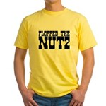 Flopped the Nutz Yellow T-Shirt