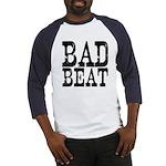Bad Beat Poker Baseball Jersey