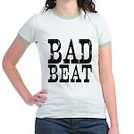 Bad Beat Women Poker Jr. Ringer T-Shirt