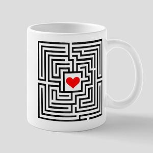Labyrinth - Heart Mug