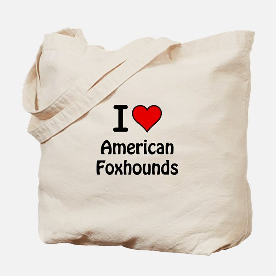 American Foxhounds Tote Bag