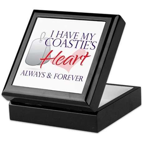 I have my Coasties heart Keepsake Box