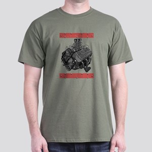 Flatheads Forever!-Red Dark T-Shirt