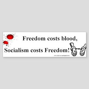 Blood or Freedom (sticker)