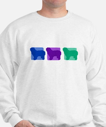 Color Row Polish Sheepdog Sweatshirt