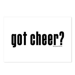 got cheer? Postcards (Package of 8)