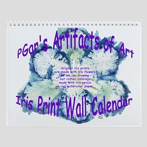 Iris 17 Wall Calendar