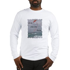 All Life Comes From The Sea Long Sleeve T-Shirt