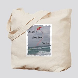 All Life Comes From The Sea Tote Bag