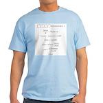 Light T-Shirt w/Translation
