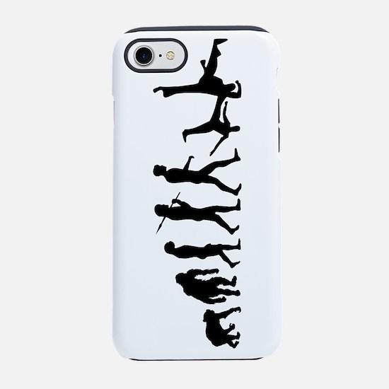 Evolution of Capoeira iPhone 7 Tough Case