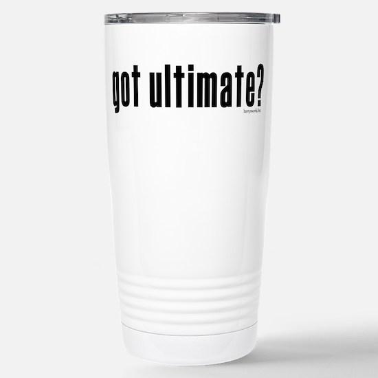 got ultimate? Stainless Steel Travel Mug