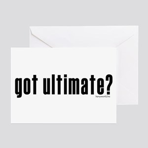 got ultimate? Greeting Cards (Pk of 20)