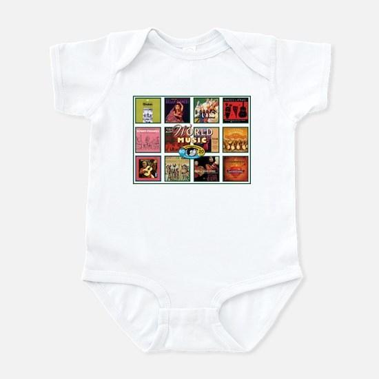 World Music Infant Bodysuit